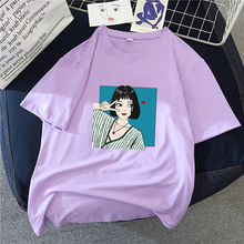 цена на Multi-color Women T-shirt Letter Print O-neck Short Sleeve  Slim Fitted Top Street Wear Funny T-shirt Women Summer Korean Tee