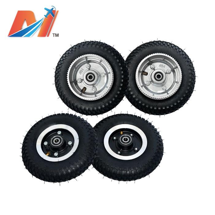 road 200x50mm 8 polegadas pneumática pneus rodas para e mountainboard e skate