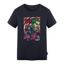 Batman & Joker DC Comics Superhero Print T-Shirt Women Men Summer Style T Shirt The Joker Tees Short Sleeve