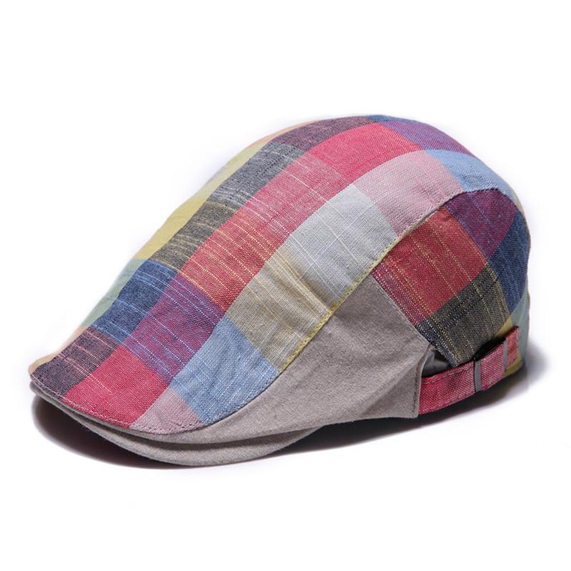Cotton Gorras Planas Male Visors Vintage Boinas Flat Cap for Men and Women Driving Sun Flat Cabbie Newsboy Hat Visors