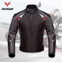 DUHAN Motorcycle Jackets Men Waterproof Motorcycle Racing Jacket Protective Motocross Riding Jacket Professional Protector