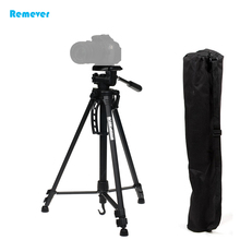 High quality Professional Tripod with 3-Way head+Built-in spirit levels +Quick release lock for Cameras DSLR Canon Nikon Sony new arrival lightweight portable mini professional tripod with ball head quick release plate for cameras dslr canon sony nikon