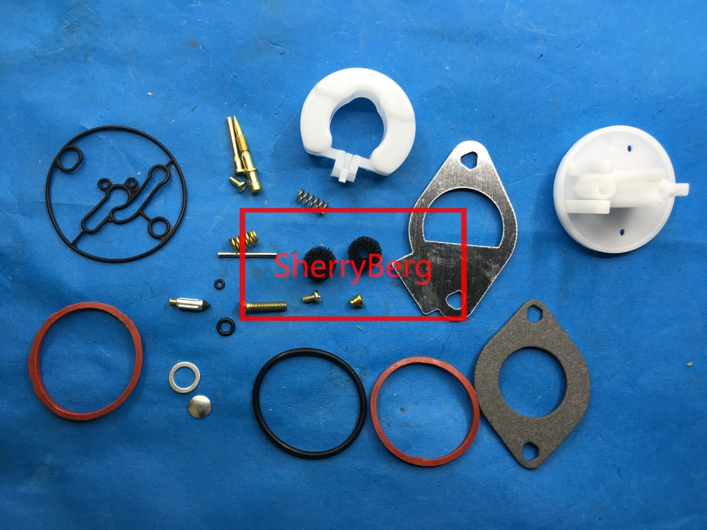 Carb Carburatore Ricostruzione Kit per Briggs & Stratton Maestro Revisione Nikki 796184 carbrettor
