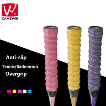 CAMEWIN Brand 5PCS/Set Anti-slip Breathable Tennis Racket Overgrip Sweatband Griffband Badminton Rackets Grips Sweatband
