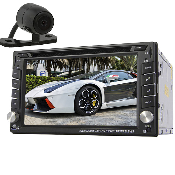6 2 Inch Universal GPS Car Stereo 2din Radio BT Indash Wince Audio Video Win 8UI