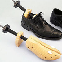Unisex High Quality Professional Shoe Stretcher Adjustable 2 Way Wooden Holder Shaper Tree Shoes Expander S