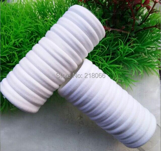 1000 Stücke Weiße Farbe Nylon Elastische Haarbänder starke dauerhafte Haar Seil Zubehör Krawatten-in Elastische Bänder aus Heim und Garten bei  Gruppe 1