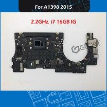 Laptop A1398 Logic Board 2.2GHz i7 16GB IG for Macbook Pro Retina 15″ A1398 Motherboard 661-02524 Mid-2015 EMC 2909 2910
