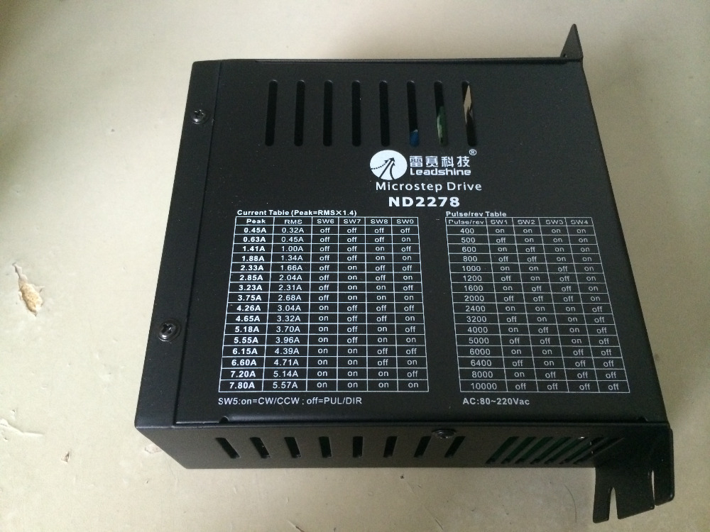 New Leadshine 2 phase high voltage stepper