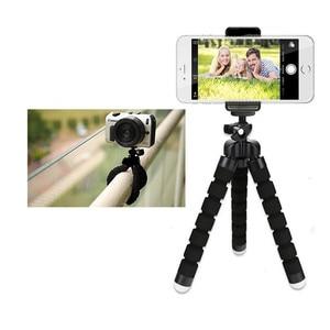 Image 3 - 휴대 전화 카메라 액세서리에 대 한 유연한 미니 삼각대 xiaomi에 대 한 삼성에 대 한 아이폰에 대 한 삼각대 Selfie 스틱 프로 9.25 이동