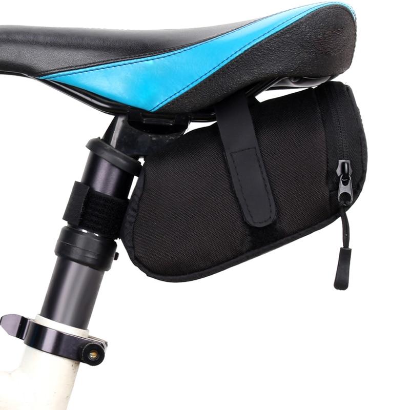 1Pcs Waterproof Storage Cycling Back Seat Bicycle Saddle Bag Pouch Outdoor Bicycle Bags bicicleta bolsa 600D Nylon MTB Bike