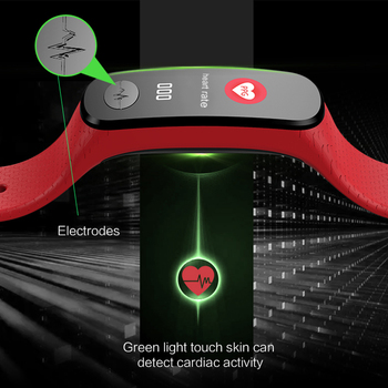 Smart Bracelet Support Heart Rate blood Oxygen Blood Pressure Monitoring SMS Call Reminder SmartBand For Business Holiday gifts