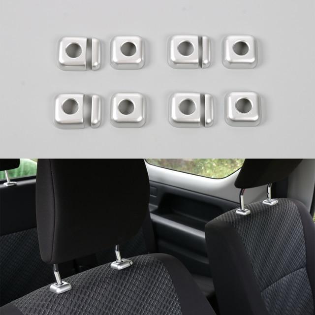 12pcs Set New Car Interior Seat Headrest Lift Adjust Button