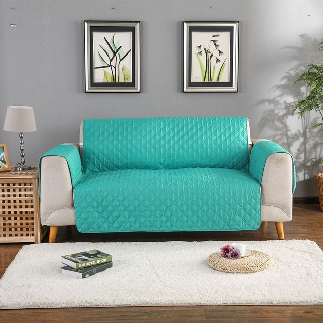 Sofa Couch Abdeckung Stuhl Werfen Haustier Hund Kinder Matte Möbel Protector Reversible Waschbar Abnehmbare Armlehne Hussen 1/2/3 Sitz
