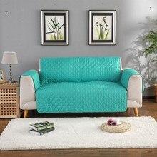 Sofa narzuta na sofę krzesło rzuć Pet Dog Kids Mat pokrowiec na meble odwracalne zmywalne zdejmowane podłokietniki 1/2/3 Seat