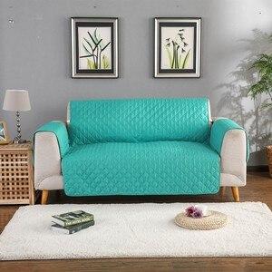 Image 1 - Sofa narzuta na sofę krzesło rzuć Pet Dog Kids Mat pokrowiec na meble odwracalne zmywalne zdejmowane podłokietniki 1/2/3 Seat