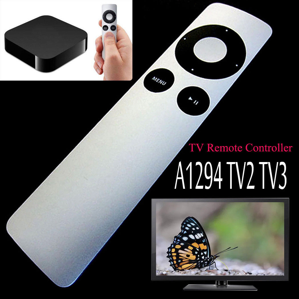 Universal Replacement Remote Control For Apple TV TV1 TV2 TV3 Official Apple TV Remote Control A1294 For Apple TV All Versions(China)