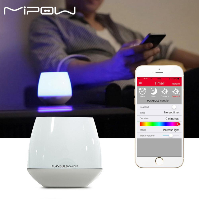Awesome Mipow PLAYBULB Smart RBB LED Candle Light APP Timer Control Dimmable Color  Romantic LED Light For Good Ideas