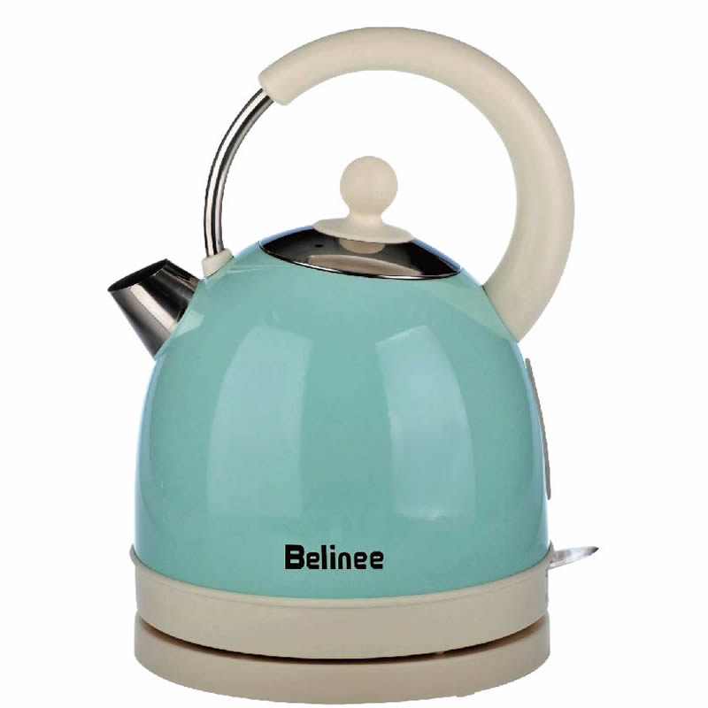 Stainless Steel Electric Kettle Auto Power-off Protection Wired Handheld Instant Heating Household Electric Water Kettle