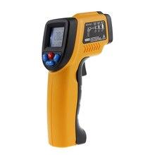 50 to 380 C Digital Thermometer Infrared IR Laser Non Contact Temperature Gun Pyrometer Aquarium