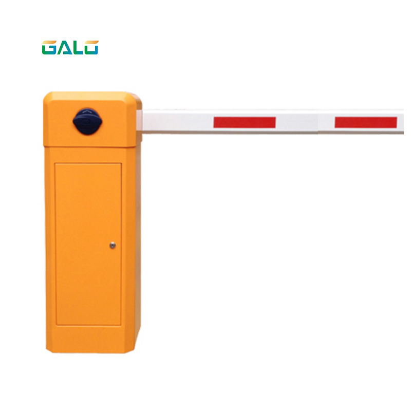 Straight pole Boom with automation barrier gate system use for parking (Support pillar can free)