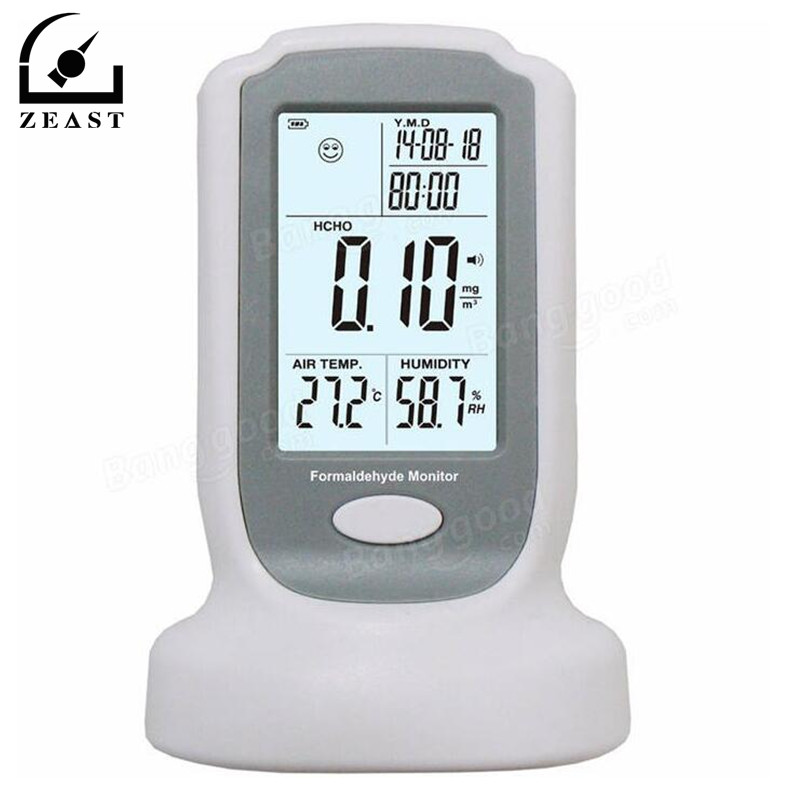 GM8801 High Sensitive Formaldehyde Detector Meter HCHO Air Quality Tester Gas Analyzer 0-3mg/m3 Testing  Resolution 0.01mg/m3
