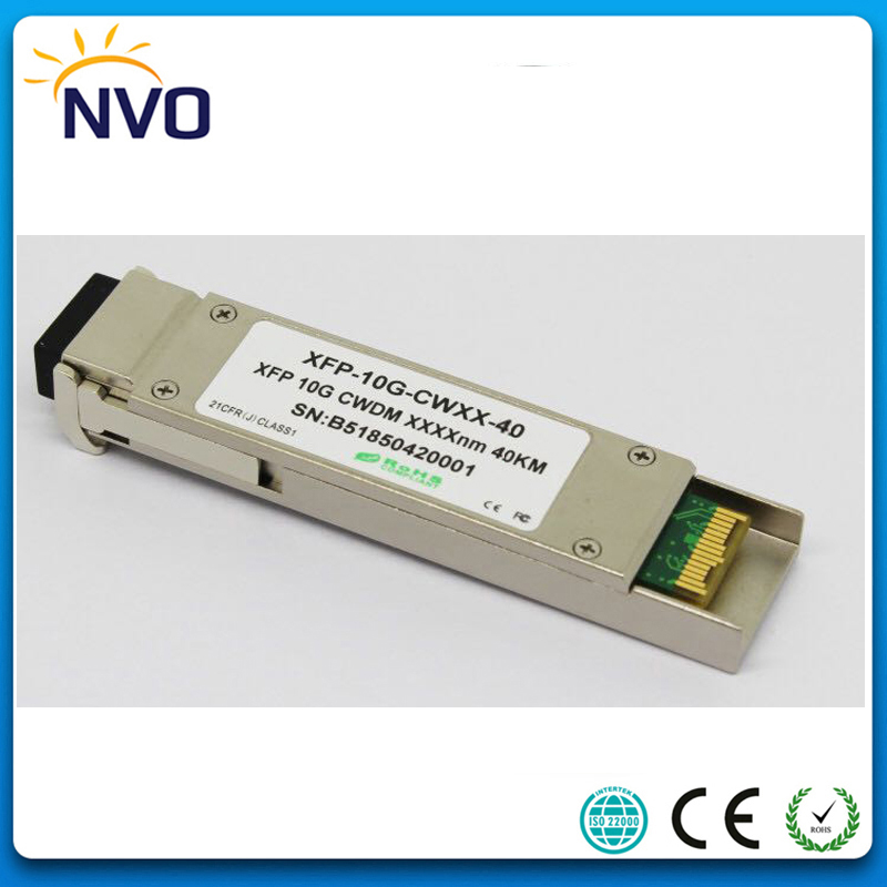 CWDM-XFP-ER-40KM,10GBASE-ER Dual LC 10G 1470nm-1610nm 40KM ER CWDM XFP Fiber Optic Transceiver Module With DDM FunctionCWDM-XFP-ER-40KM,10GBASE-ER Dual LC 10G 1470nm-1610nm 40KM ER CWDM XFP Fiber Optic Transceiver Module With DDM Function