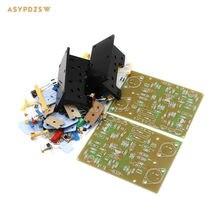 2PCS QUAD405 Clone Power amplifier DIY Kit with MJ15024+Angle aluminum (2 channel)