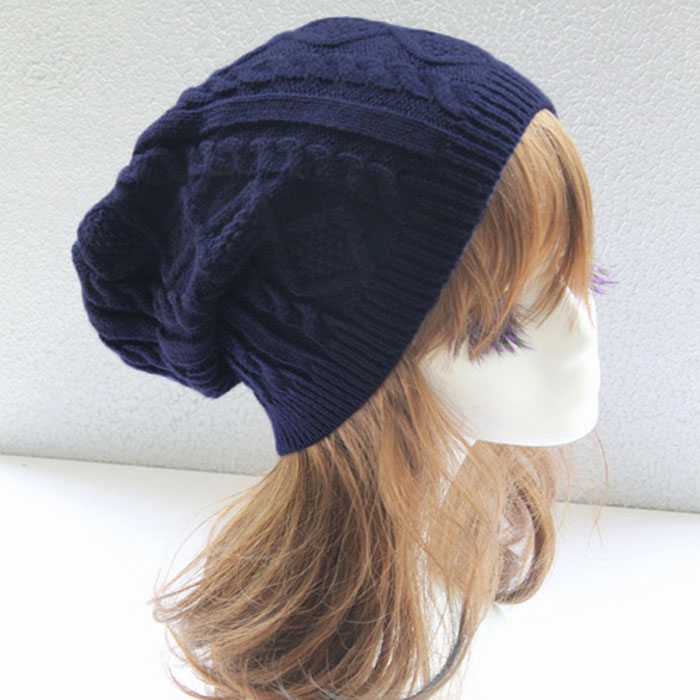 Women Knitted Hat Winter Hats Twist Pattern   Beanie   Cap For Ladies Girls Soft Chic   Skullies     Beanies   Bonnet Femme Czapka Zimowa