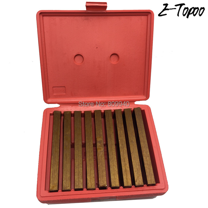 ETOPoo 18pcs 9pairs Hardened Parallels block gauge 6 Long 1 4 Thicken Steel High Precision Parallels