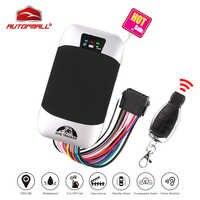 Rastreador GPS de coche localizador GPS GSM para vehículos Coban TK303G, impermeable, IP66, Control remoto, apagado del motor, Geofence, aplicación Web gratuita