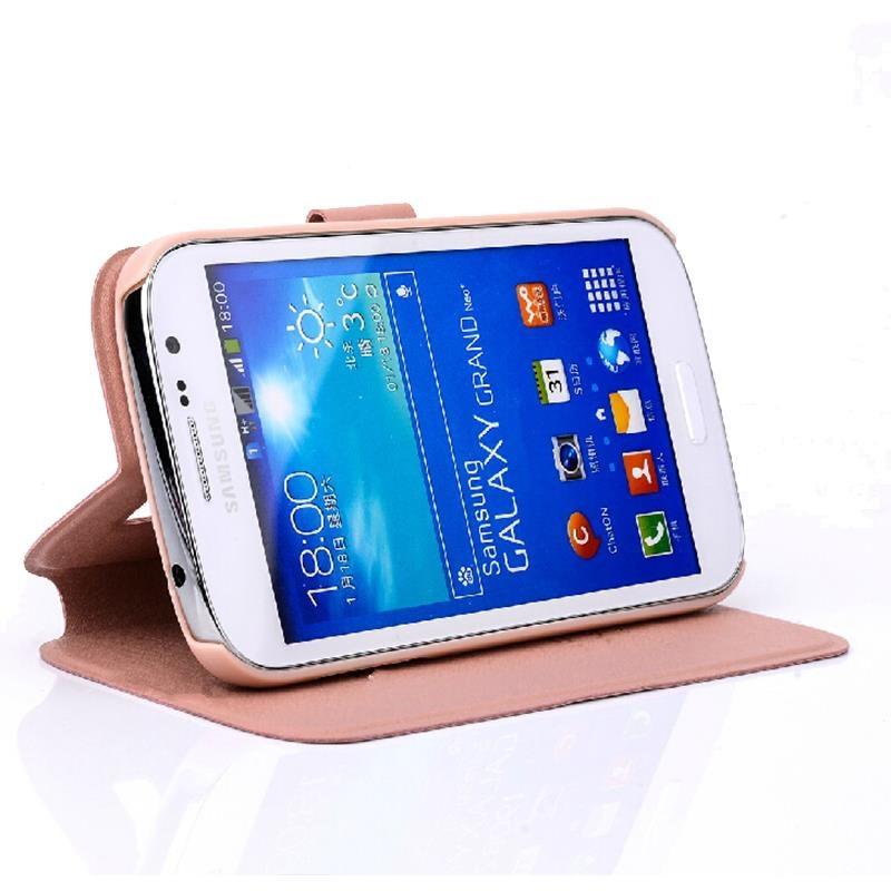 5.0 inch Kasus Cover Untuk Samsung Galaxy J2 Prime Keren Mode Silk Pu - Aksesori dan suku cadang ponsel - Foto 2