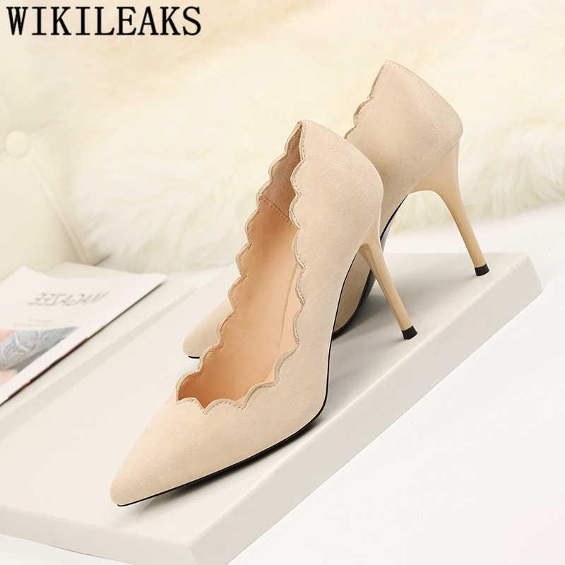 Pompe delle donne scarpe tacco alto scarpe da sera fetish tacchi alti scarpe di lusso delle donne designers sexy tacchi topuklu ayakkabi bayan talon