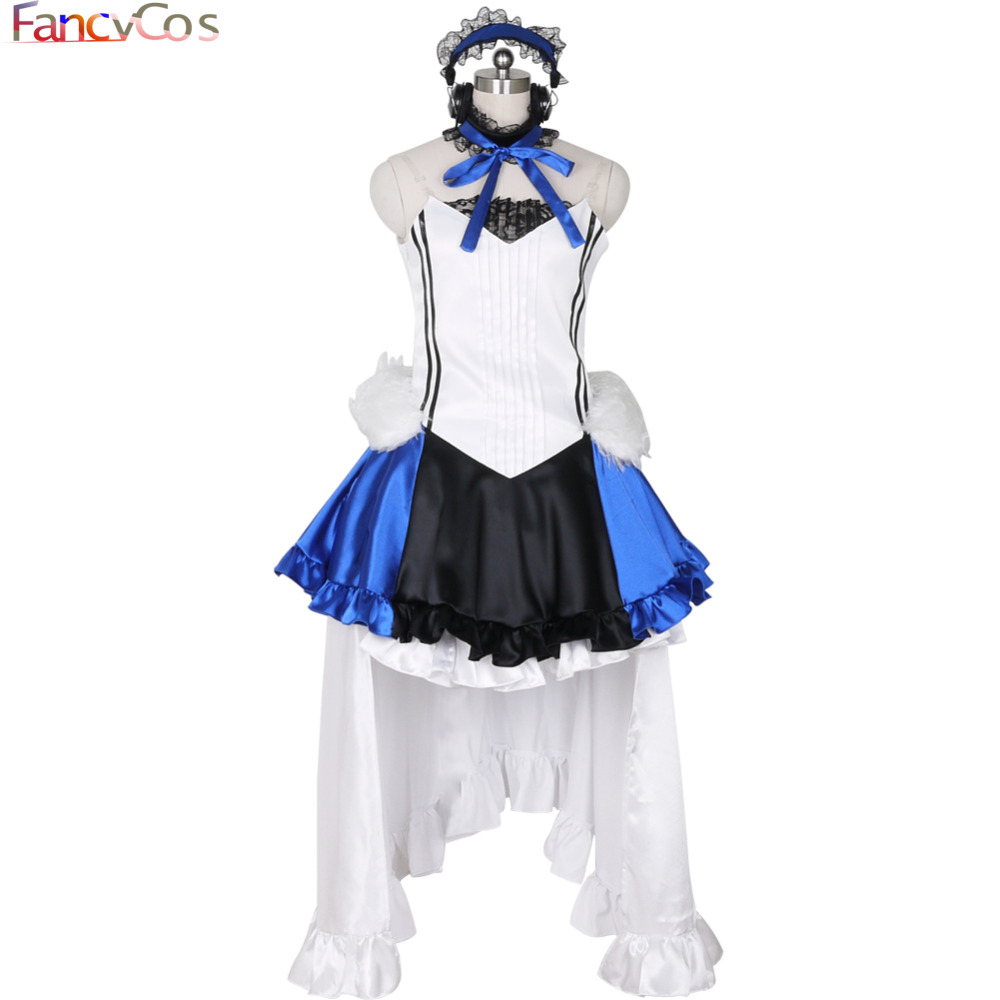 Halloween VOCALOID 2 Hatsune Miku Dress Costume Cosplay adult costume movie High Quality Deluxe