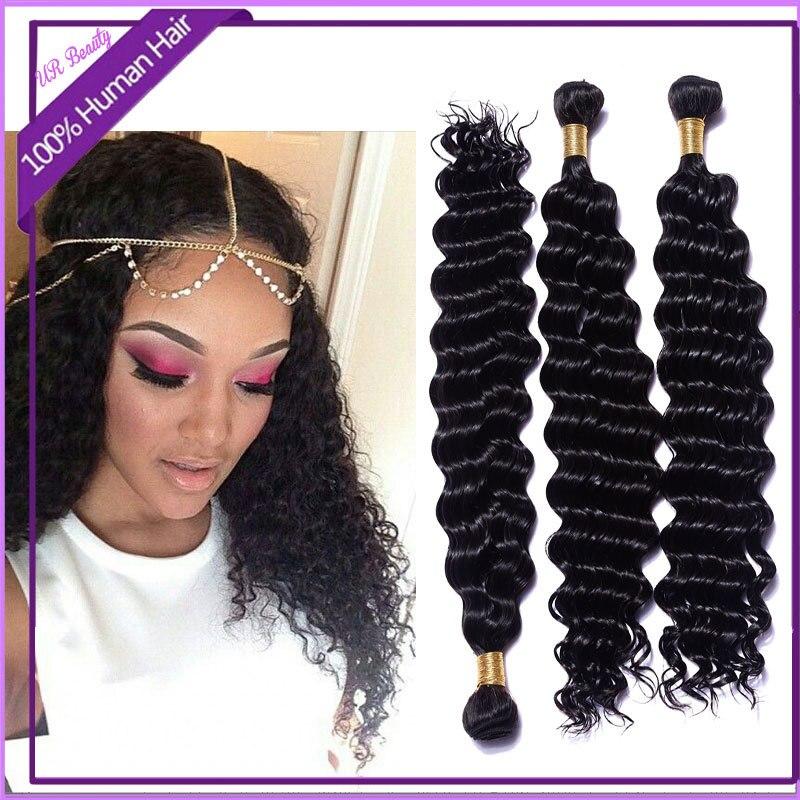 Fashion Messy Deep Curly Hair Naturally Curly Hair Weaves Natural
