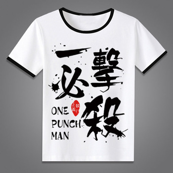 One Punch Man T-Shirt New Japan Anime Tops Tees Summer Men Women One-Punch Man Cosplay Short Sleeve T shirt 1