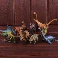 Jurassic Welt Dinosaurier Spielzeug Velociraptor Triceratops Carnotaurus Tyrannosaurus Rex Tier Modell Lernen Pädagogisches Kinder Geschenk
