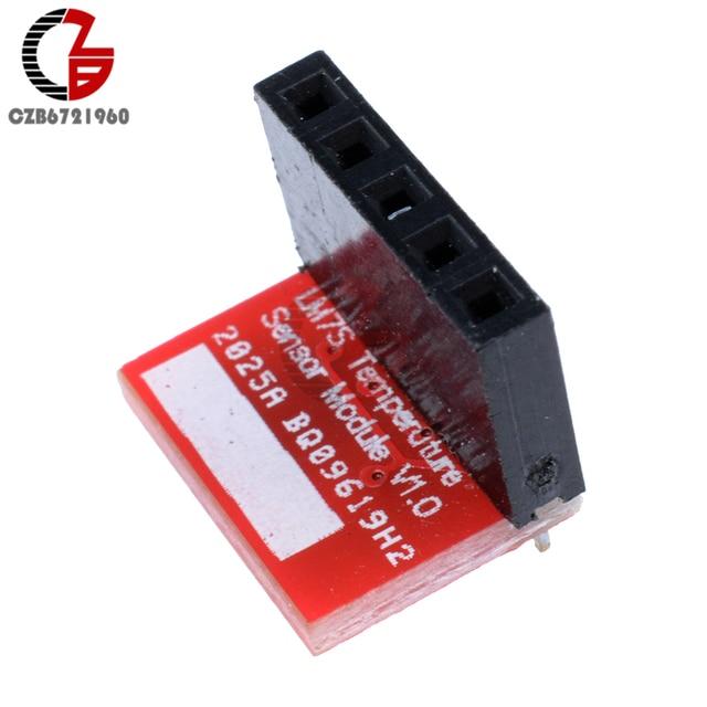 US $0 56 10% OFF LM75A I2C Temperature Sensor Module Thermostat Temperature  Controller Development Board for Arduino Raspberry Pi-in Temperature