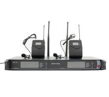 SKM900 UHF Profissional Microfone Sem Fio Sistema de Microfone de Karaokê com Transmissor de Mão Dupla Mic