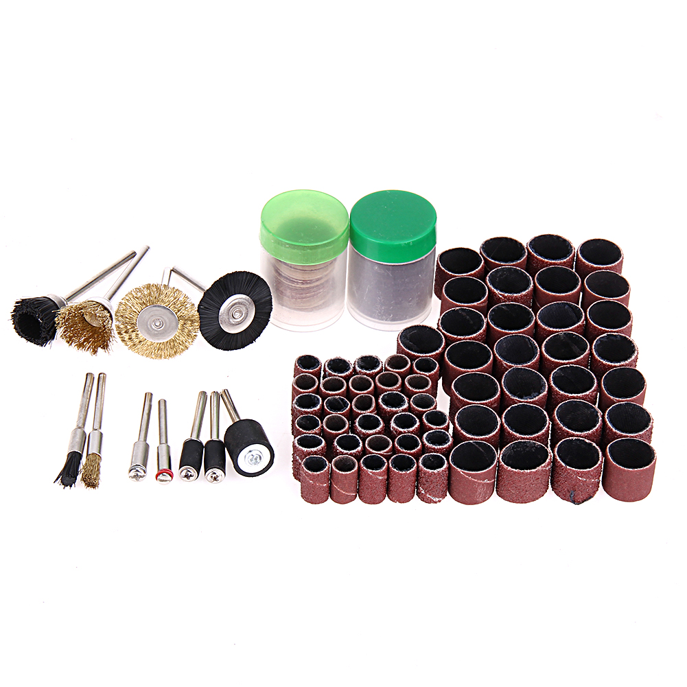 150pcs Rotary Tool Accessories Mini Drill Bit Set & Fit Dremel Grinding Wheel Carving Polishing Grinder Head Tool Sets