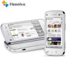 N97 Original Nokia N97 32 GB Handy Entsperrt 3G Wifi 5MP GPS Smartphone & Ein jahr garantie