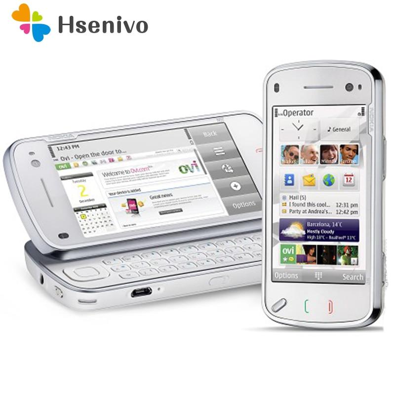 N97 Original Nokia N97 32GB Mobile Phone Unlocked 3G Wifi 5MP GPS Refurbished