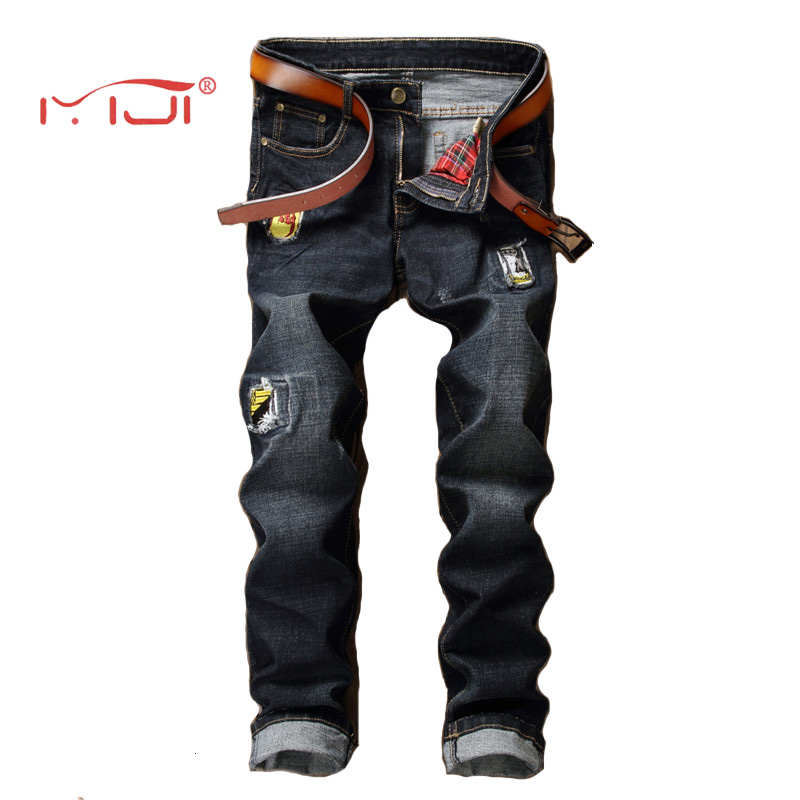 Men Denim Jeans Pants Men s Vintage Stretch Jeans Trousers High Quality Blue Mens Jeans Classic Denim Casual Pants 31-38