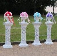 4pcs/lot wedding plastic roman column wedding props wedding roman pillar wedding road lead Height of 93cm