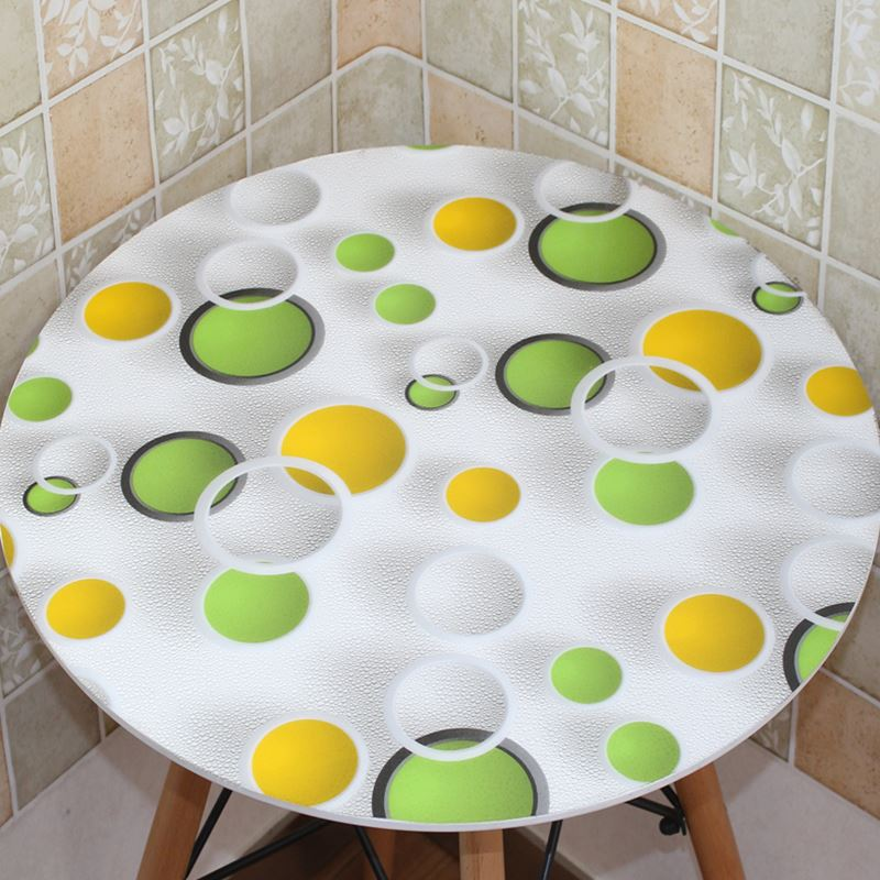 Aliexpress.com : Buy 2017 New Geometric Patterns PVC Round Tablecloth 3D  Table Mats Coffee Table Waterproof PVC Korean Table Cover Free Shipping  From ...