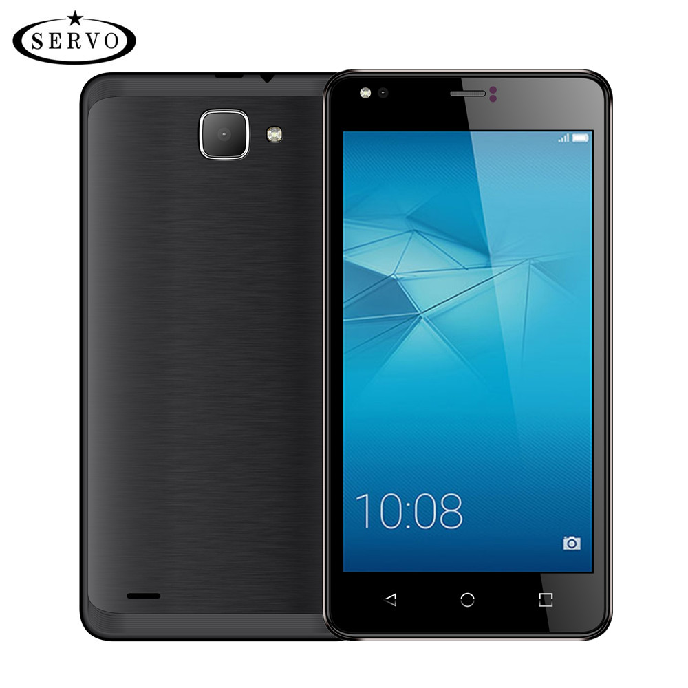 Original phone SERVO H3 5.5 inch Android 6.0 Spreadtrum7731C Quad Core 1.2GHz Dual Sim 5.0MP GSM WCDMA Unlocked mobile phones