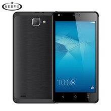 Оригинальный телефон servo h3 5.5 дюймов android 6.0 spreadtrum7731c quad core 1.2 ГГц dual sim 5.0mp gsm wcdma разблокирована мобильного телефоны