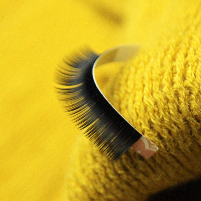 0.25 D curl eyelash extension individual eyelash extension permanent russian fake eyelashes extensions