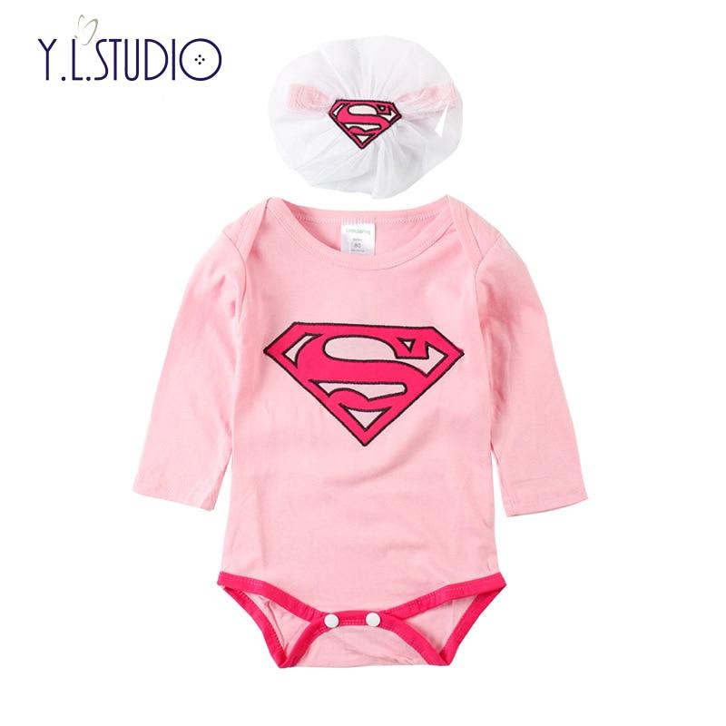 447e8d58a Fashion Romper Newborn Baby Clothes First Christmas Costumes Baby Girl  Halloween Romper Superman/Batman Jumpsuit+Hat 2-Piece Set |  Soaringhawkonestopshop