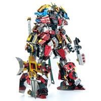 Microworld LYUBU Warrior 3D Metal Puzzle DIY Assemble Model Kits Laser Cut Jigsaw Toys R003